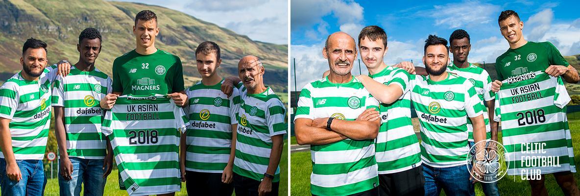 Celtic host 20th anniversary uk asian football championships