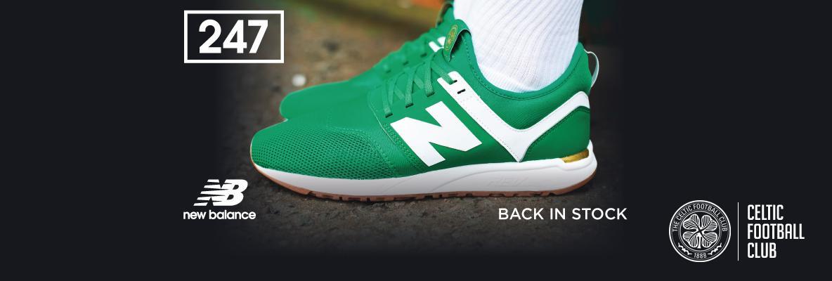 Back in stock! Celtic fc x nb 247s