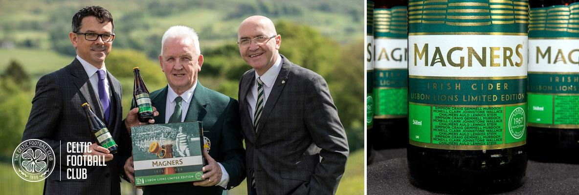 Magners release limited edition Lisbon Lions pack