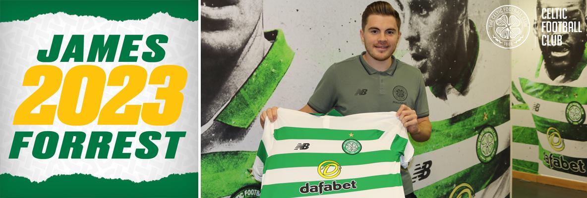 James Forrest: I want to continue bringing success to this club