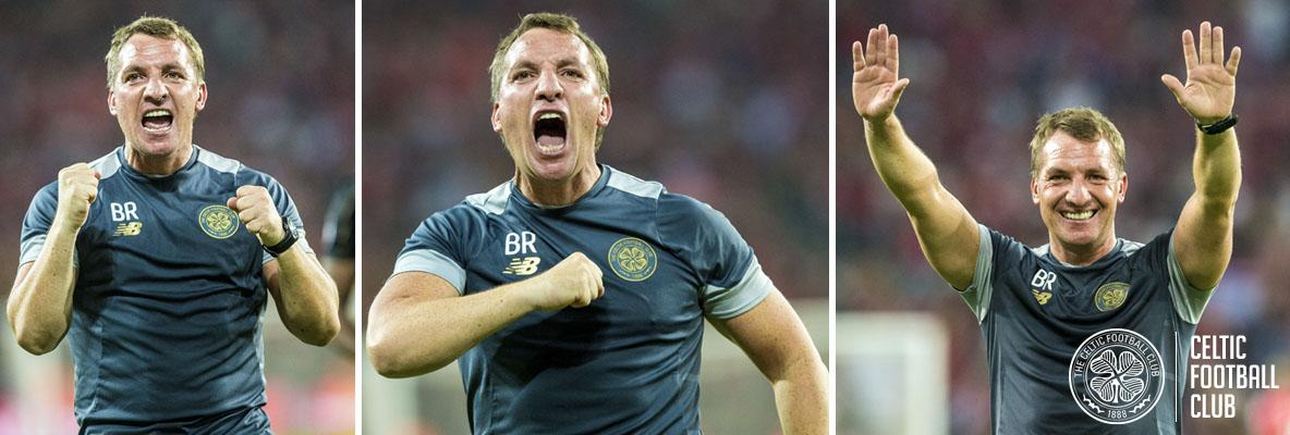 Brendan Rodgers: I'm proud for everyone at Celtic