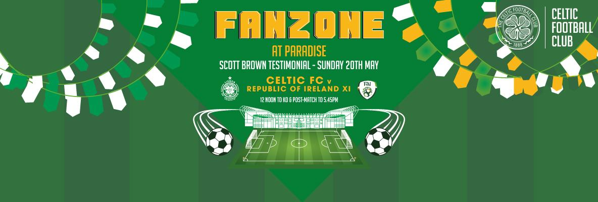 Pre and post-match Fanzone at Paradise this Sunday