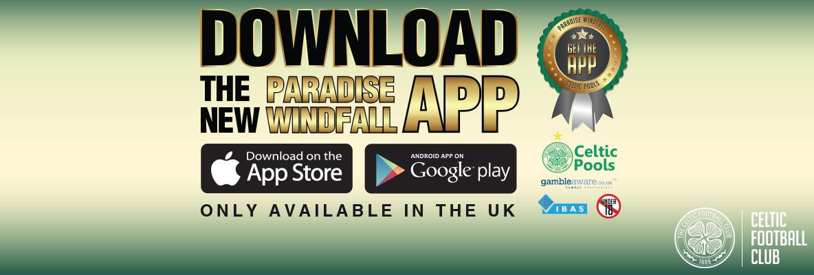 Celtic Pools launch new Paradise Windfall Mobile App