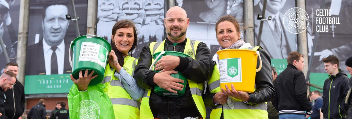Incredible support for Celtic FC Foundation's Badge Day