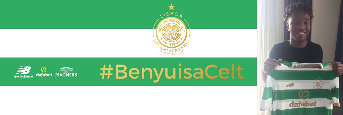 Celtic delighted to sign Kundai Benyu on four-year deal