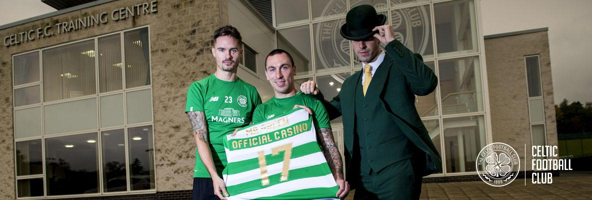 Mr Green is Celtic FC's Official Casino partner