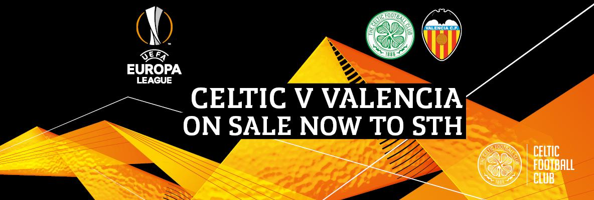 Don't miss the deadline to secure your seat for Celtic v Valencia