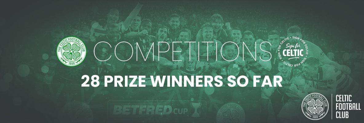 28 winners so far with 'Sign For Celtic'