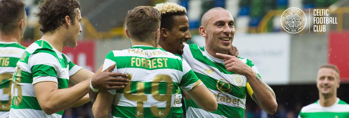 Dominant Celtic secure first-leg victory in Belfast