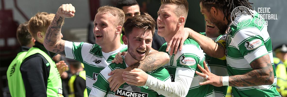 Celts close in on five-in-a-row after Hearts win