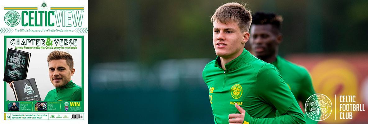 Young Norwegian Celt, Leo Hjelde, is loving life at Paradise