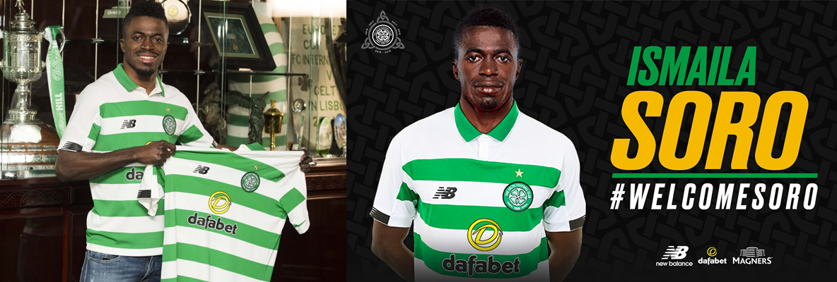 Celtic delighted to complete signing of Ismaila Soro