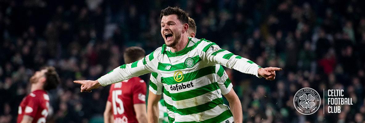 Burke bags a brace as Celts sink St Mirren