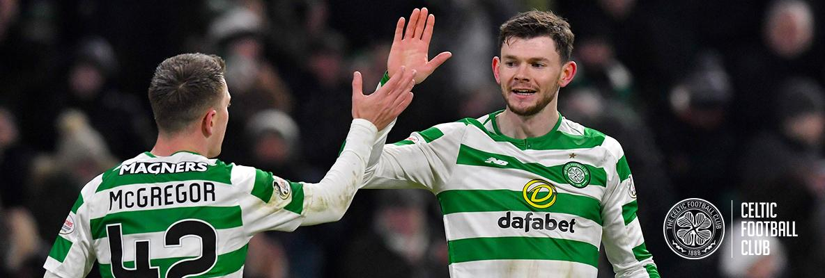 Oliver Burke delighted with goals and early progress as a Celt