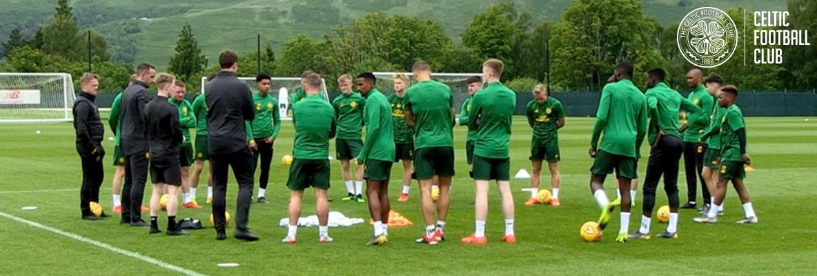 Celts back on the go at Lennoxtown for pre-season training
