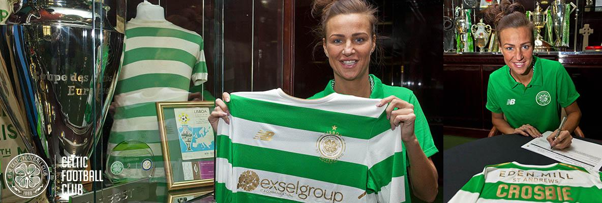 Claire Crosbie signs up for Celtic Women's new season