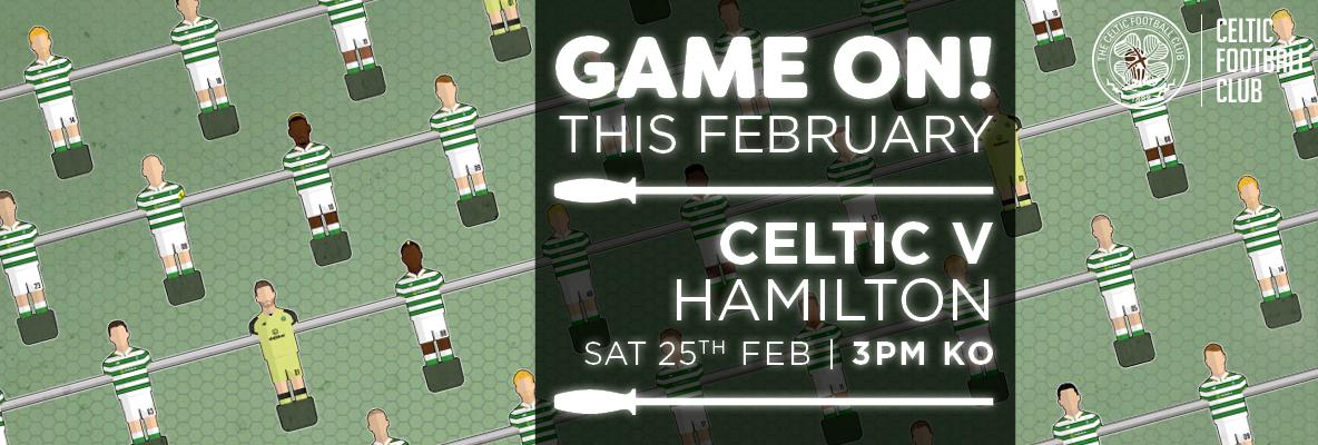 Buy Celtic v Hamilton Accies tickets online and print at home