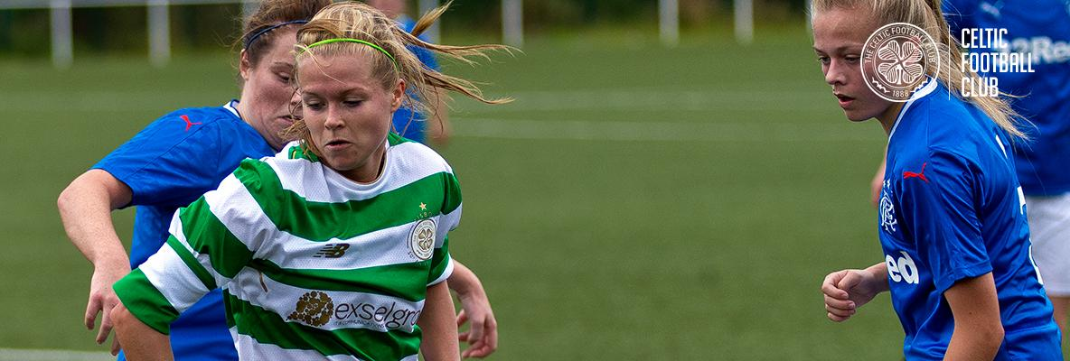 Celtic Women in Glasgow derby action this weekend