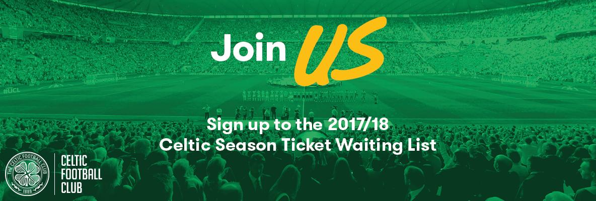 Sign up for the season ticket waiting list