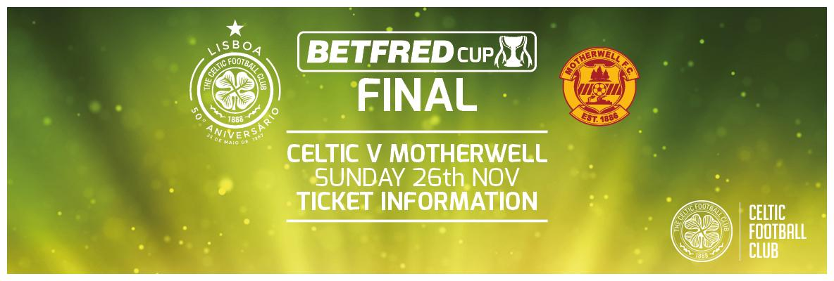 Celtic's League Cup final initial ticket allocations sold-out