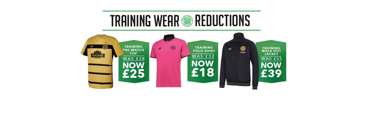 Training Wear reductions in-store and online – don't miss out