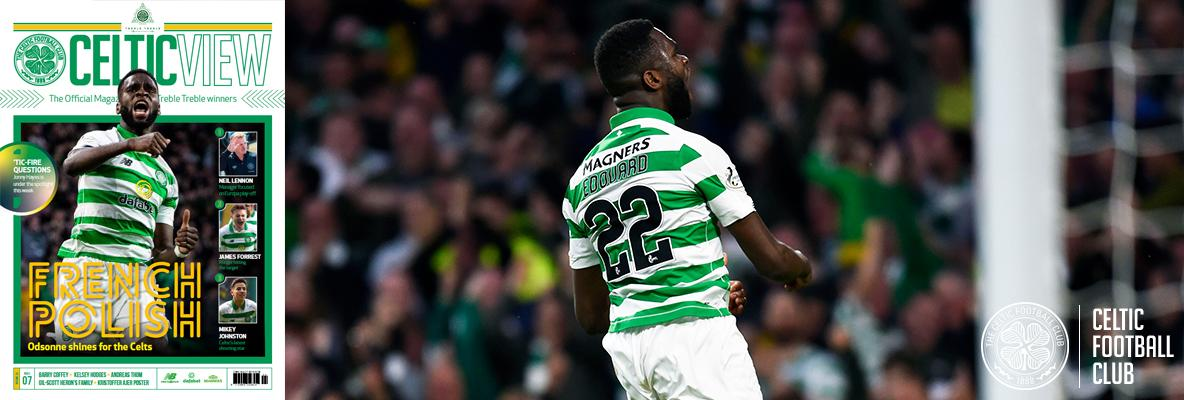 Celtic View exclusive: Odsonne adores his Stone Roses anthem