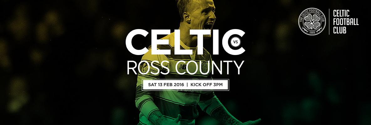 Back the Bhoys against Ross County - Tickets on sale now
