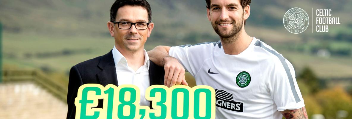 Magners donate £18,300 to Foundation and ask fans to allocate the funds
