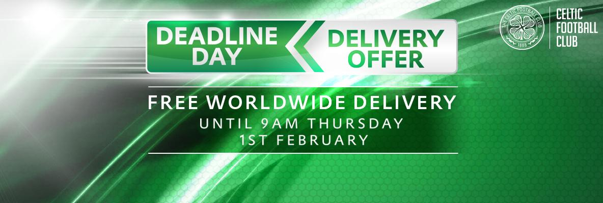 Online superstore: deadline day – free worldwide delivery