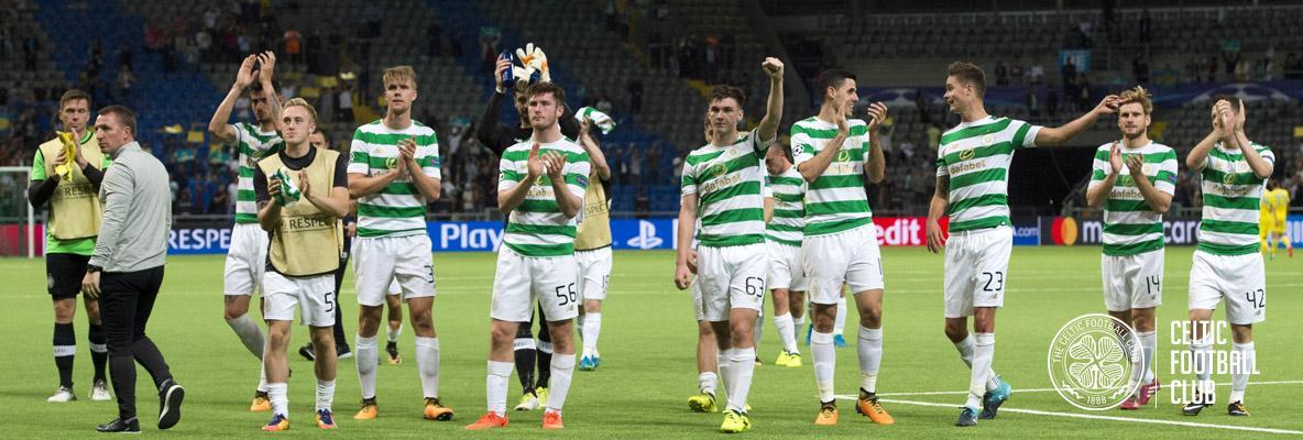 Celts seal Champions League group stage spot