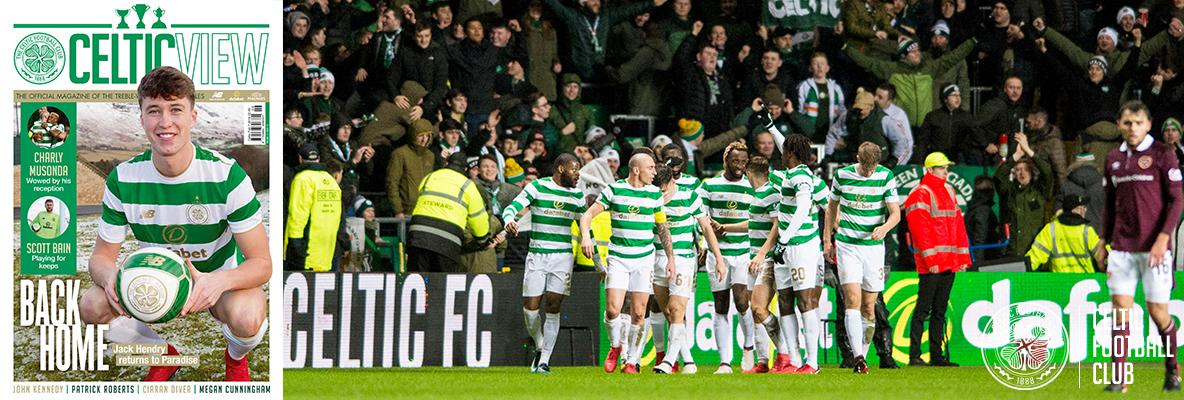 The new Bhoys in this week's Celtic View