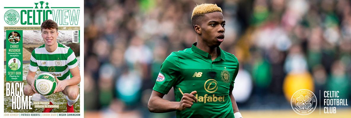 Charly Musonda hails the Celtic support