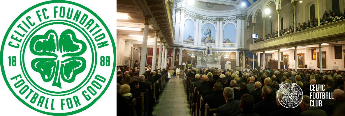 Anniversary Mass at St Mary's Church to celebrate Celtic's birth
