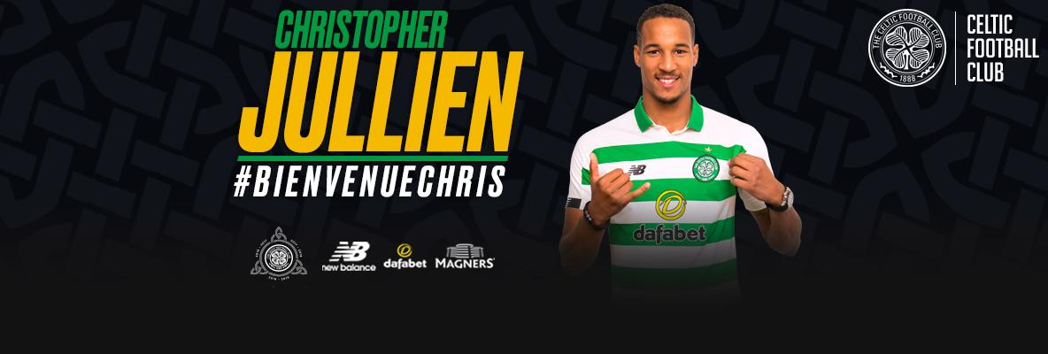 Celtic delighted to sign Christopher Jullien on a four-year deal