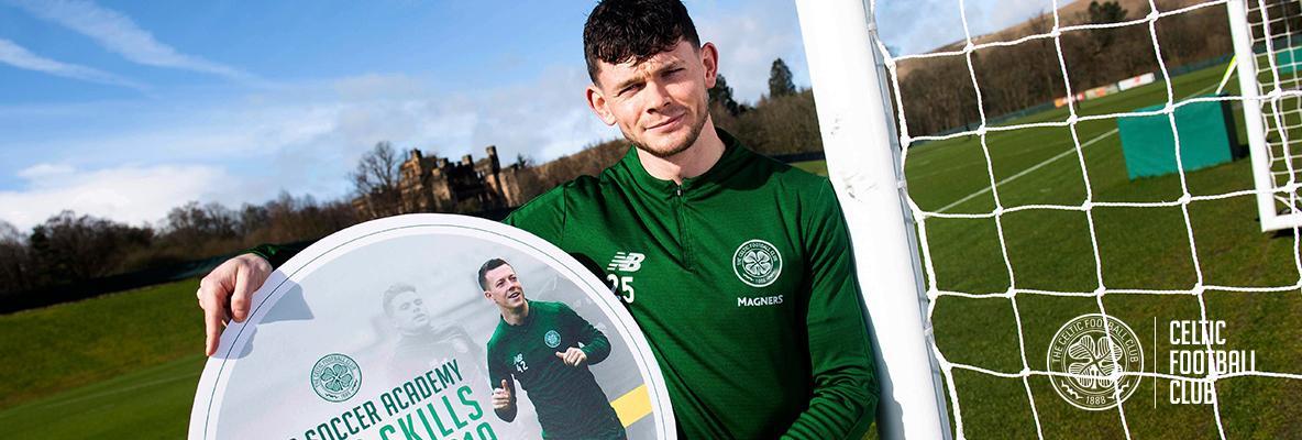 Oliver Burke loving life as a Celt under Neil Lennon