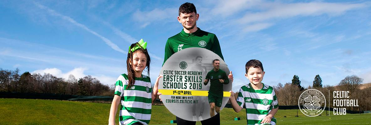 Sign up now for Celtic Soccer Academy's Easter Skills Schools