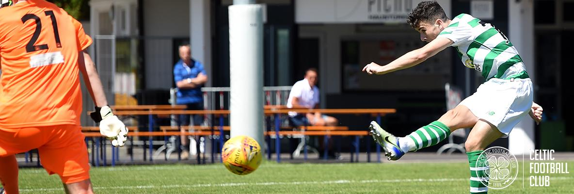 Johnston and Sinclair fire Celts to pre-season victory