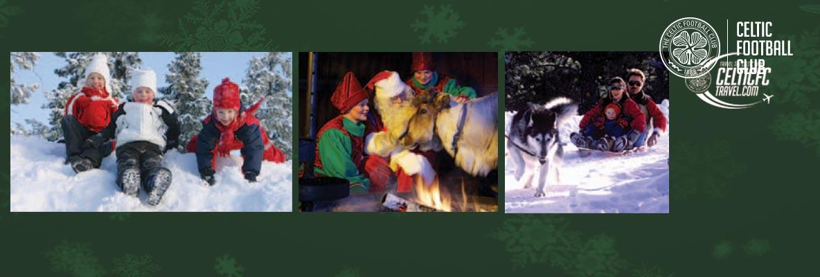 Treat your Bhoys & Ghirls to a wonderful Christmas trip to Lapland
