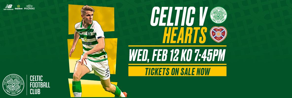 Celtic v Hearts: Buy online and print at home