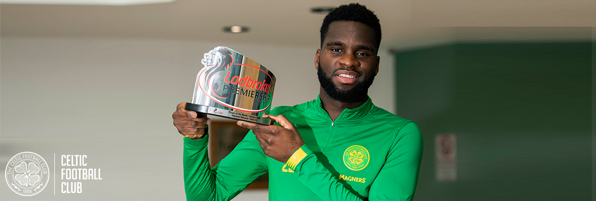 Odsonne Edouard is January's Premiership Player of the Month