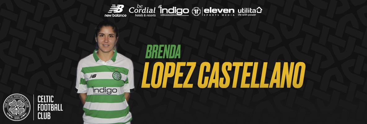 Spanish midfielder, Brenda Lopez Castellano, signs for Celtic