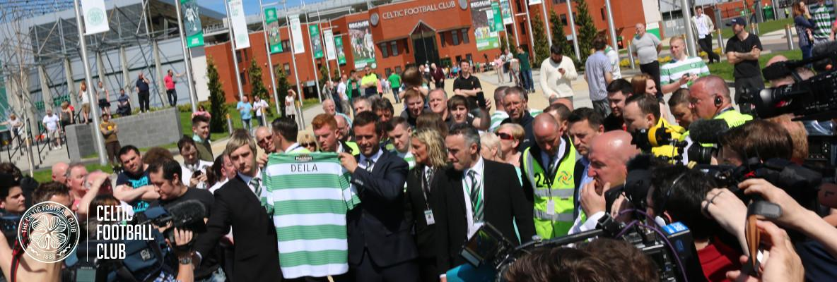 Ronny Deila is Celtic's No.17