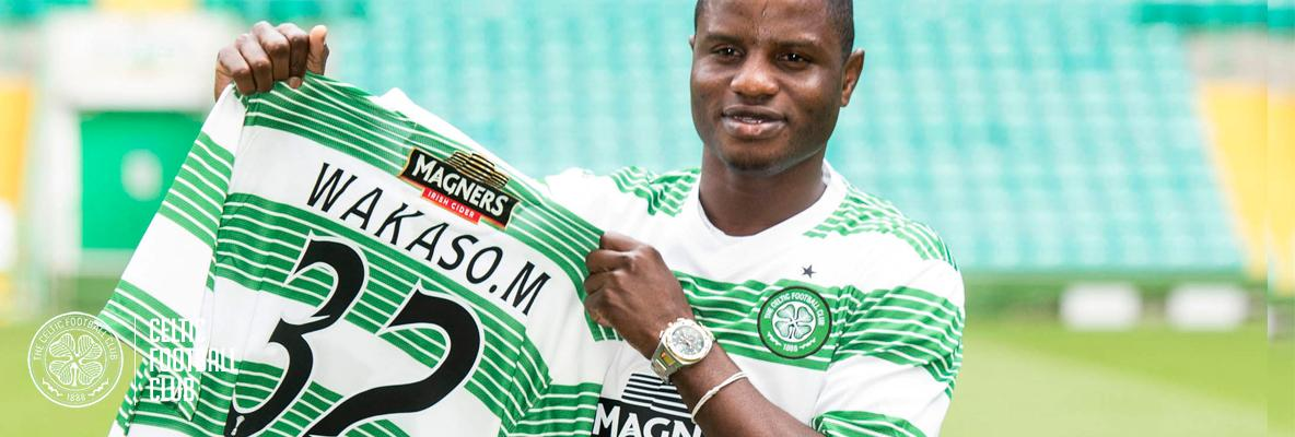 Wakaso wants to be history Bhoy