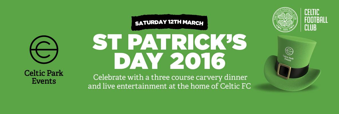 Celebrate St Patrick's Day early at Celtic Park – book your place