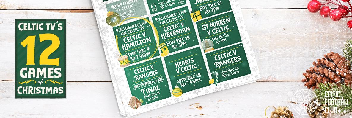 Celtic v Hamilton Accies live and exclusive on Celtic TV