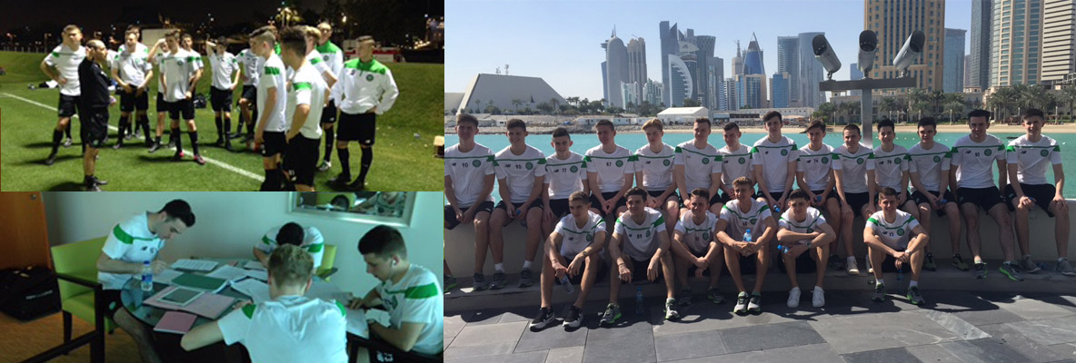 Young Celts lose out in Qatar tournament opener