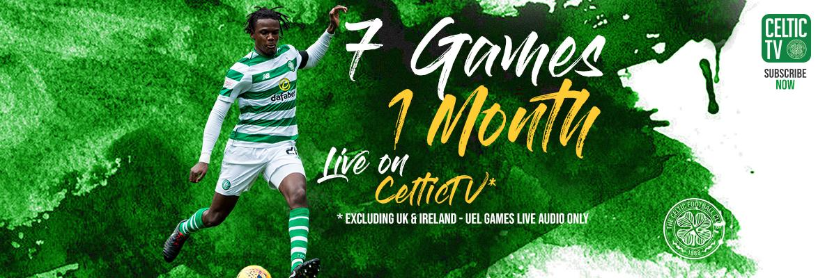 Enjoy 7-in-a-row with Celtic TV