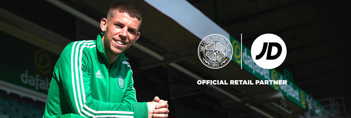 Celtic announce JD Retail Partnership