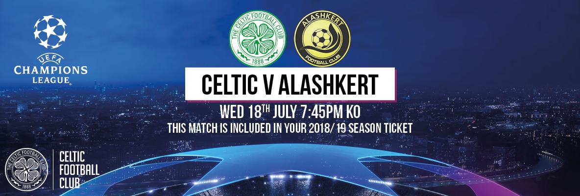 Celtic face Alashkert of Armenia in Champions League qualifier