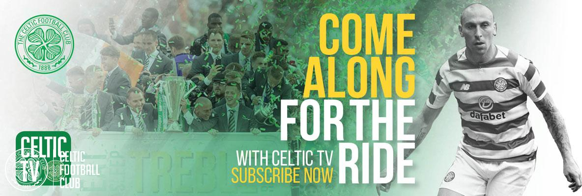 Sign up for Celtic TV and cheer on the Champions this pre-season